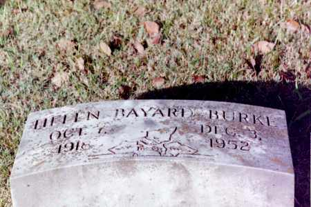 BURKE, HELEN BAYARD - Phillips County, Arkansas | HELEN BAYARD BURKE - Arkansas Gravestone Photos