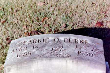 OLINGER BURKE, LARKIE - Phillips County, Arkansas | LARKIE OLINGER BURKE - Arkansas Gravestone Photos
