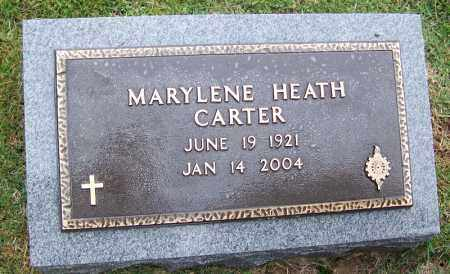 HEATH CARTER, MARYLENE - Phillips County, Arkansas | MARYLENE HEATH CARTER - Arkansas Gravestone Photos