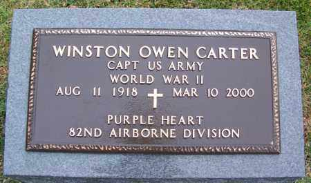 CARTER (VETERAN WWII), WINSTON OWEN - Phillips County, Arkansas | WINSTON OWEN CARTER (VETERAN WWII) - Arkansas Gravestone Photos