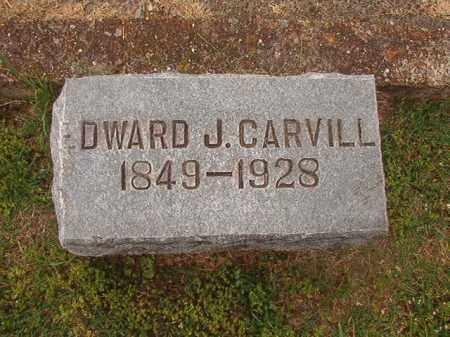 CARVILL, EDWARD J - Phillips County, Arkansas | EDWARD J CARVILL - Arkansas Gravestone Photos