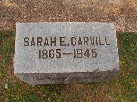 CARVILL, SARAH E - Phillips County, Arkansas | SARAH E CARVILL - Arkansas Gravestone Photos
