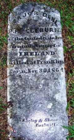 CLEBURNE (VETERAN CSA), PATRICK RONYANE - Phillips County, Arkansas | PATRICK RONYANE CLEBURNE (VETERAN CSA) - Arkansas Gravestone Photos