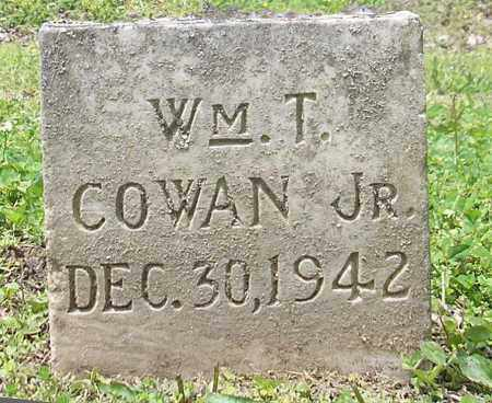 COWAN, JR., WILLIAM T. - Phillips County, Arkansas | WILLIAM T. COWAN, JR. - Arkansas Gravestone Photos