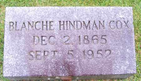 HINDMAN COX, BLANCHE - Phillips County, Arkansas | BLANCHE HINDMAN COX - Arkansas Gravestone Photos