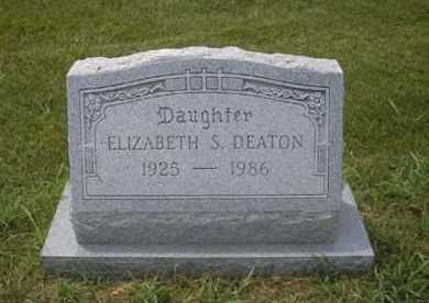 DEATON, ELIZABETH S. - Phillips County, Arkansas | ELIZABETH S. DEATON - Arkansas Gravestone Photos