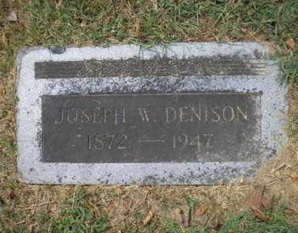 DENISON, JOSEPH W. - Phillips County, Arkansas | JOSEPH W. DENISON - Arkansas Gravestone Photos