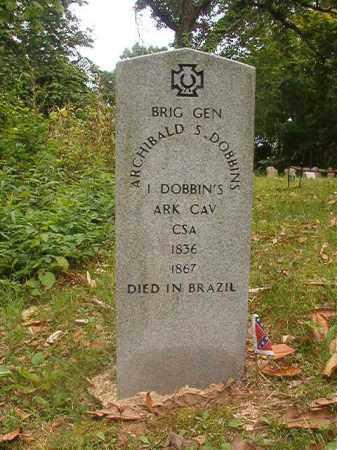 DOBBINS (VETERAN CSA), ARCHIBALD S - Phillips County, Arkansas | ARCHIBALD S DOBBINS (VETERAN CSA) - Arkansas Gravestone Photos