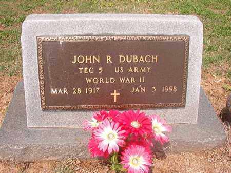 DUBACH (VETERAN WWII), JOHN R - Phillips County, Arkansas | JOHN R DUBACH (VETERAN WWII) - Arkansas Gravestone Photos