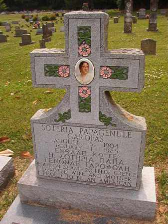 PAPAGENULE GAROFAS, SOTERIA - Phillips County, Arkansas | SOTERIA PAPAGENULE GAROFAS - Arkansas Gravestone Photos