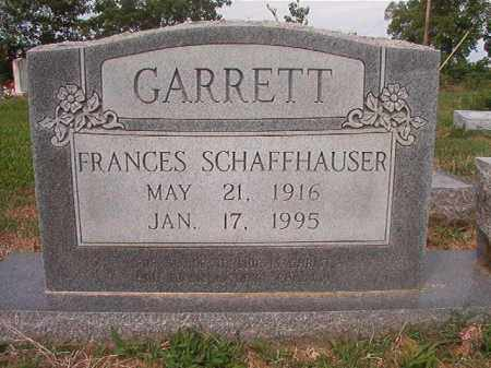 GARRETT, FRANCES - Phillips County, Arkansas | FRANCES GARRETT - Arkansas Gravestone Photos