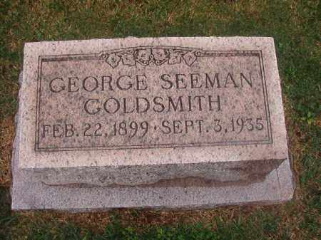 GOLDSMITH, GEORGE SEEMAN - Phillips County, Arkansas | GEORGE SEEMAN GOLDSMITH - Arkansas Gravestone Photos