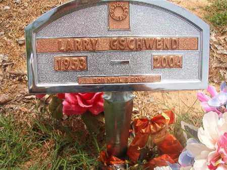 GSCHWEND, LARRY - Phillips County, Arkansas | LARRY GSCHWEND - Arkansas Gravestone Photos