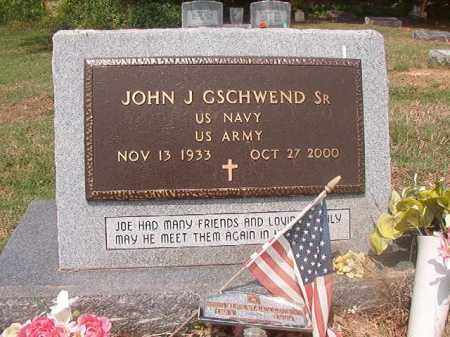 GSCHWEND, SR (VETERAN), JOHN J - Phillips County, Arkansas | JOHN J GSCHWEND, SR (VETERAN) - Arkansas Gravestone Photos