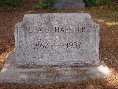 HAFFTER, LEA R - Phillips County, Arkansas | LEA R HAFFTER - Arkansas Gravestone Photos