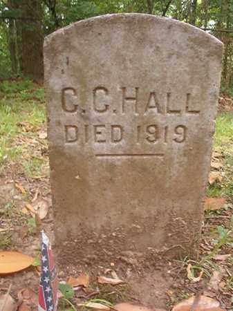 HALL (VETERAN CSA), C C - Phillips County, Arkansas | C C HALL (VETERAN CSA) - Arkansas Gravestone Photos