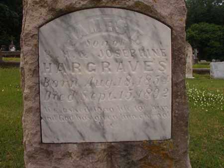HARGRAVES, JAMES T - Phillips County, Arkansas | JAMES T HARGRAVES - Arkansas Gravestone Photos