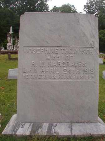 THOMPSON HARGRAVES, JOSEPHINE - Phillips County, Arkansas | JOSEPHINE THOMPSON HARGRAVES - Arkansas Gravestone Photos