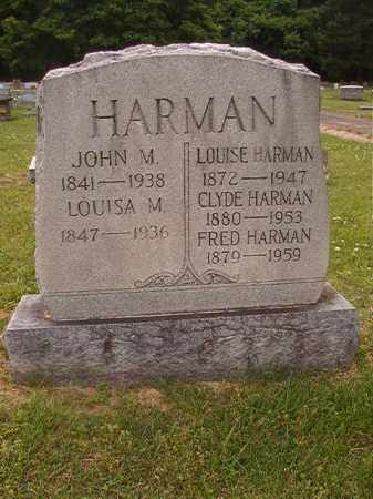 HARMAN, JOHN M - Phillips County, Arkansas | JOHN M HARMAN - Arkansas Gravestone Photos