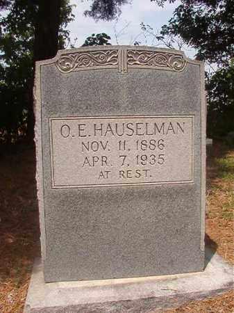 HAUSELMAN, O E - Phillips County, Arkansas | O E HAUSELMAN - Arkansas Gravestone Photos