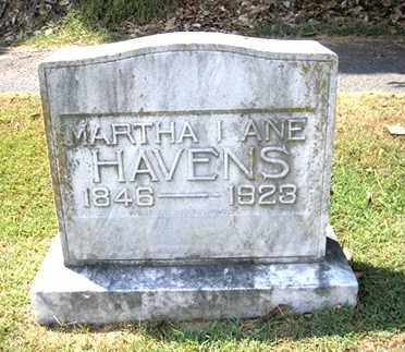 HAVENS, MARTHA LANE - Phillips County, Arkansas | MARTHA LANE HAVENS - Arkansas Gravestone Photos