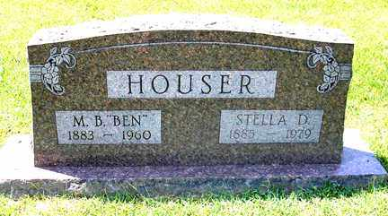 "HOUSER, M. B. ""BEN"" - Phillips County, Arkansas 