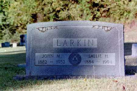 LARKIN, JOHN M. - Phillips County, Arkansas | JOHN M. LARKIN - Arkansas Gravestone Photos