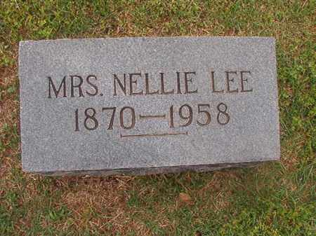 LEE, NELLIE - Phillips County, Arkansas | NELLIE LEE - Arkansas Gravestone Photos