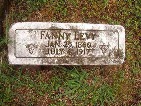 LEVY, FANNY - Phillips County, Arkansas | FANNY LEVY - Arkansas Gravestone Photos
