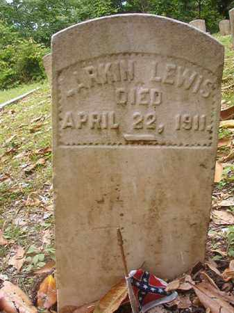 LEWIS (VETERAN CSA), LARKIN - Phillips County, Arkansas | LARKIN LEWIS (VETERAN CSA) - Arkansas Gravestone Photos