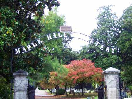 *MAPLE HILL CEMETERY GATE, , - Phillips County, Arkansas | , *MAPLE HILL CEMETERY GATE - Arkansas Gravestone Photos