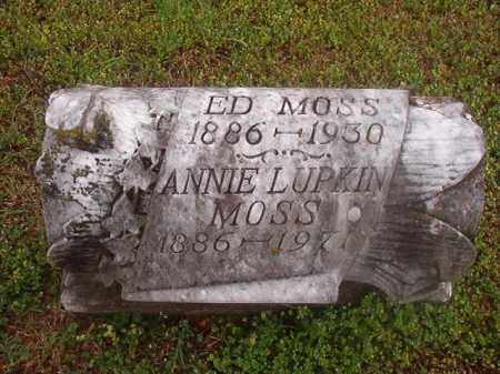 LUPKIN MOSS, ANNIE - Phillips County, Arkansas | ANNIE LUPKIN MOSS - Arkansas Gravestone Photos