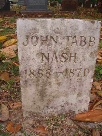 NASH, JOHN TABB - Phillips County, Arkansas | JOHN TABB NASH - Arkansas Gravestone Photos