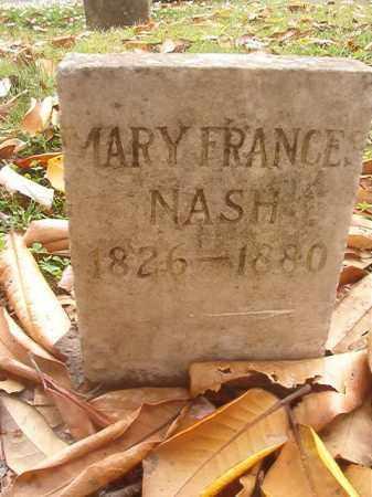NASH, MARY FRANCES - Phillips County, Arkansas | MARY FRANCES NASH - Arkansas Gravestone Photos