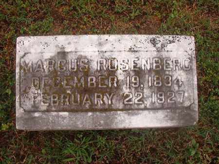 ROSENBERG, MARCUS - Phillips County, Arkansas | MARCUS ROSENBERG - Arkansas Gravestone Photos