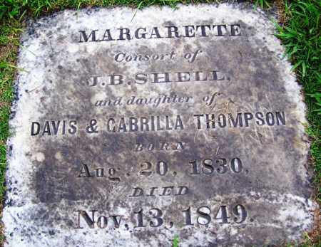 THOMPSON SHELL, MARGARETTE - Phillips County, Arkansas | MARGARETTE THOMPSON SHELL - Arkansas Gravestone Photos