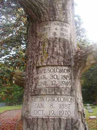 SOLOMON, LAFE - Phillips County, Arkansas | LAFE SOLOMON - Arkansas Gravestone Photos