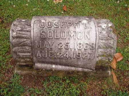 SOLOMON, JOSEPH L - Phillips County, Arkansas | JOSEPH L SOLOMON - Arkansas Gravestone Photos