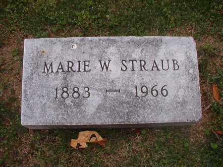 STRAUB, MARIE W - Phillips County, Arkansas | MARIE W STRAUB - Arkansas Gravestone Photos