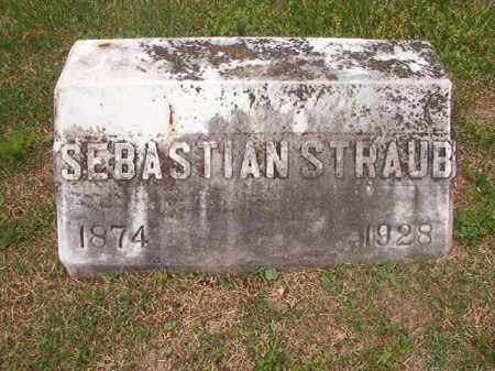 STRAUB, SEBASTIAN - Phillips County, Arkansas | SEBASTIAN STRAUB - Arkansas Gravestone Photos