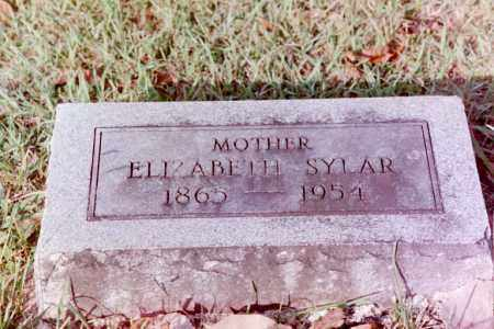 RAMSEY SYLAR, ELIZABETH - Phillips County, Arkansas | ELIZABETH RAMSEY SYLAR - Arkansas Gravestone Photos