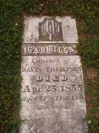 THOMPSON, GABRILLA - Phillips County, Arkansas | GABRILLA THOMPSON - Arkansas Gravestone Photos