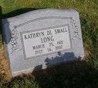 SMALL LONG, KATHRYN DL - Pike County, Arkansas | KATHRYN DL SMALL LONG - Arkansas Gravestone Photos