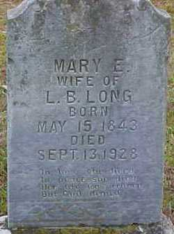 GRISSOM LONG, MARY ELIZABETH - Pike County, Arkansas | MARY ELIZABETH GRISSOM LONG - Arkansas Gravestone Photos