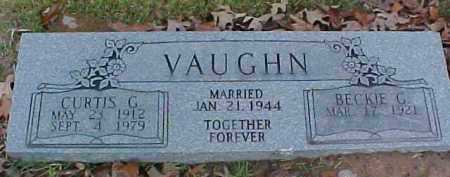 VAUGHN, CURTIS G - Pike County, Arkansas | CURTIS G VAUGHN - Arkansas Gravestone Photos