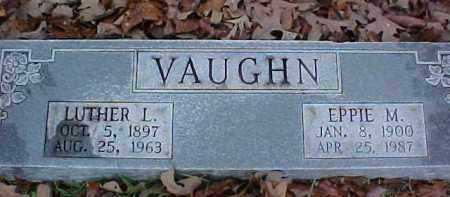 VAUGHN, LUTHER L - Pike County, Arkansas | LUTHER L VAUGHN - Arkansas Gravestone Photos