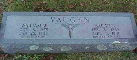 VAUGHN, SARAH JANE (JENNY) - Pike County, Arkansas | SARAH JANE (JENNY) VAUGHN - Arkansas Gravestone Photos