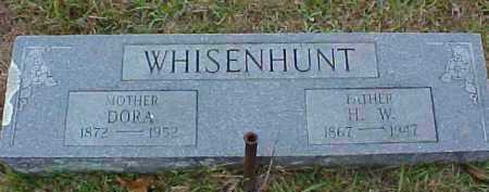 WHISENHUNT, H W - Pike County, Arkansas | H W WHISENHUNT - Arkansas Gravestone Photos