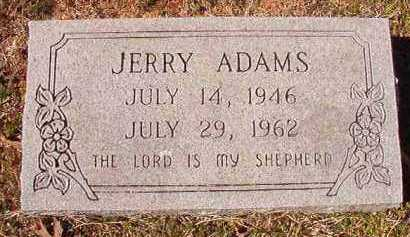 ADAMS, JERRY - Pike County, Arkansas | JERRY ADAMS - Arkansas Gravestone Photos