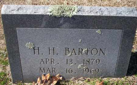 BARTON, H H - Pike County, Arkansas | H H BARTON - Arkansas Gravestone Photos